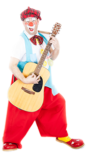 clown_titof_speelt_gitaar