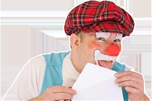 Contacteer Clown Titof